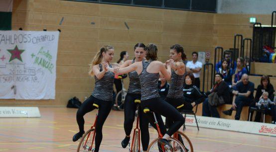4er Einrad SG Hochheide/Moers bei der DM2016